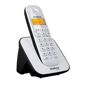 Telefone Digital sem Fio com ID de Chamadas e Display Luminoso ST3110 Branco/Preto - Intelbras