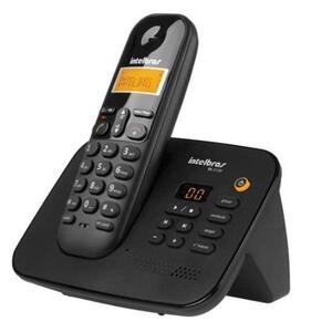 Telefone sem Fio com ID de Chamadas e Secretária Eletrônica TS3130 Preto - Intelbras