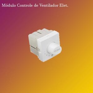 Módulo Controle de Ventilador Bivolt. (5TG99371) Branco - Vivace