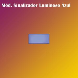 Módulo Sinalização Luminoso Azul (5TG99387) - Vivace