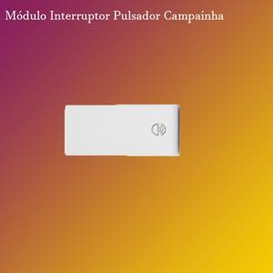 Interruptor Pulsador símb. Campainha 10A. (5TD99300) Branco - Vivace