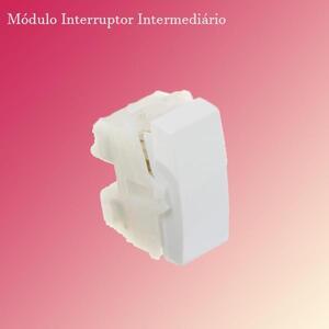 Módulo Interruptor Intermediário (573081) Branco - Brava