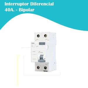 Interruptor Diferencial (IDR) Bipolar F+N. 40A (5SZ1) - Iriel