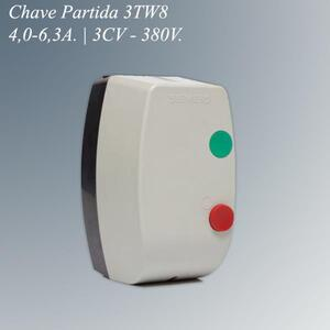 Chave Magnética Partida 3TW8 3,0CV. 4,0-6,3A. 380V. - Siemens