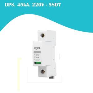 Dispositivo de Proteção contra Surtos (DPS) Monopolar 20/45kA 220V. (5SD7) - Iriel