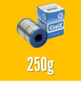 Solda em Fio Estanho 60x40 com Fluxo RA(T2) 1,0mm 250g - Cobix