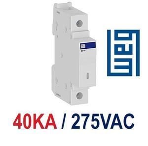 Dispositivo Proteção Contra Surto (DPS) Classe II Monopolar 275V. 40Ka. (SPW027540) - Weg
