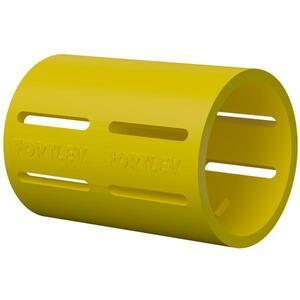 Luva de Pressão para Eletroduto Corrugado Amarelo 1 (32mm) - Fortlev