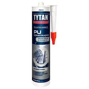 Adesivo Selante Poliuretano (PU35) 400gr. Preto - Tytan