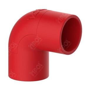 Joelho/Cotovelo para Condulete 1 Vermelho SR. - Inpol
