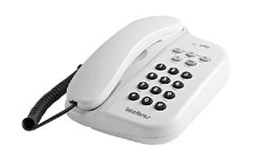 Telefone com Fio TC-500 Branco - Intelbras