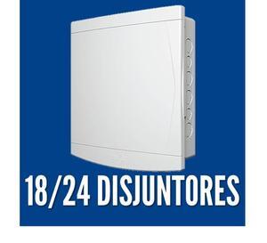 Quadro de Distribuição de Embutir p/ 18-24 Disj. - Tigre
