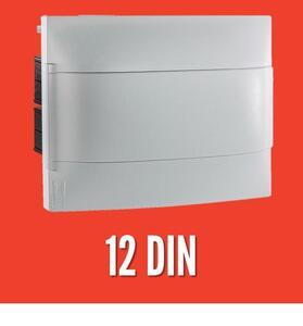 Quadro de Distribuição de Embutir p/ 12 Disj. - Legrand