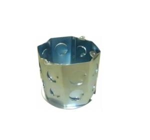 Caixa Embutir 4x4 Fundo Móvel Dupla Octogonal (11cm) - Alubethol