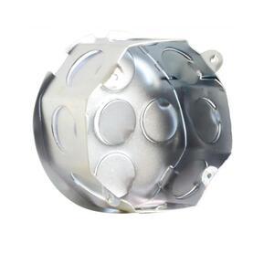 Caixa Embutir 4x4 Fundo Móvel Simples Octogonal (5,5cm) - Alubethol