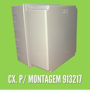 Caixa para Montagem Tampa Alta 18,5 x 21 x 16 (913217) - Cemar