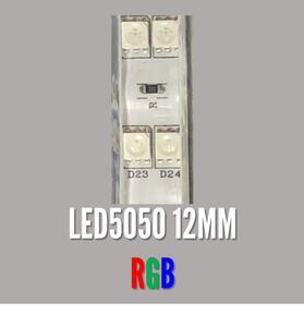 FITA LED 220V. IP65 LED5050 RGB 1MT. 12mm.