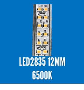 FITA LED 220V. IP65 LED2835 6500K 1MT. 12MM