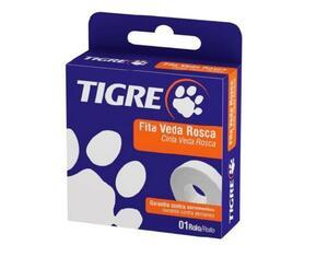 Fita Veda Rosca 18mm x 10m - Tigre