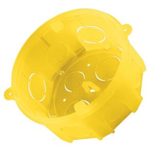 Caixa de Embutir Octogonal 4x4 Amarela (57500004) - Tramontina