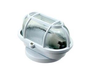Arandela Tartaruga Branca 17,8cm x 11,7 cm x 11,2cm 1xE27 Bivolt 60W - FM Lustres