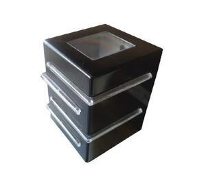 Arandela Light 25200 Preta 4 Aletas 12,2cm x 9,2cm x 8,8cm 1xG9 Bivolt 40W - Plaslumi