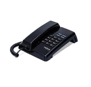 Telefone com Fio TC50 Premium Preto - Intelbras