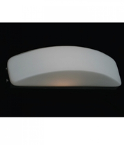 Arandela Moon Branca (ZD3001) 17cm x 7cm x 8cm 1xG9 Bivolt 40W - Bella Iluminação