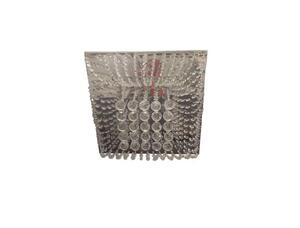 Plafon Sobrepor Beni Quadrado Cristal Transparente 40cm x 40cm x 18cm 8xG9 Bivolt - Montare