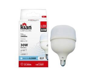 Lâmpada LED Globe 6500K Bivolt 30W - Kian