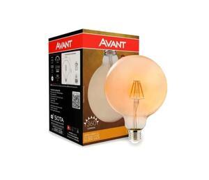 Lâmpada LED Retrô Âmbar Globo G125 2200K Bivolt 4W - Avant