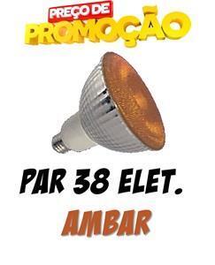 Lâmpada PAR38 Fluorescente Espiral Âmbar 220V 23W - G-light