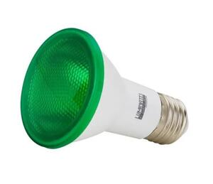 Lâmpada LED PAR20 Verde Bivolt 6W - Luminatti
