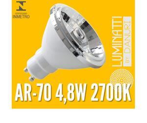 LAMP. AR70 LUMINATTI LED LM655 4,8W. 2700K