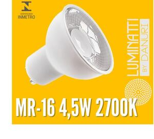 LAMP. MR16 LUMINATTI LED LM040 4,5W. 2700K