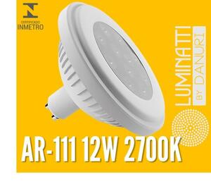 LAMP. AR111 LUMINATTI LED LM513 12W. 2700K