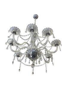Lustre Clássico Cristal Transparente 8xE14 Ø76cm x 56cm Bivolt (GD721608LS) - Bronzearte