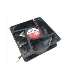 Ventilador Cooler Elétrico Preto 12cm x 12cm x 3,8cm Bivolt - Asa Fan